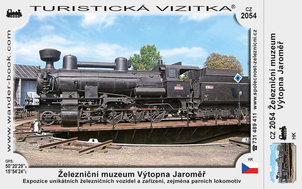 Železniční muzeum Výtopna Jaroměř