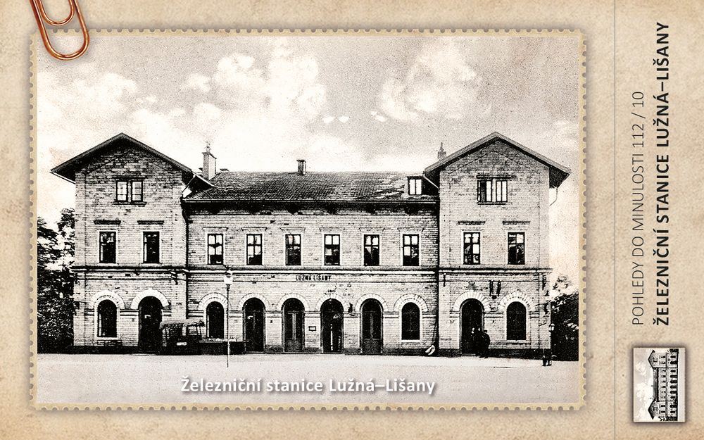 Železniční stanice Lužná–Lišany