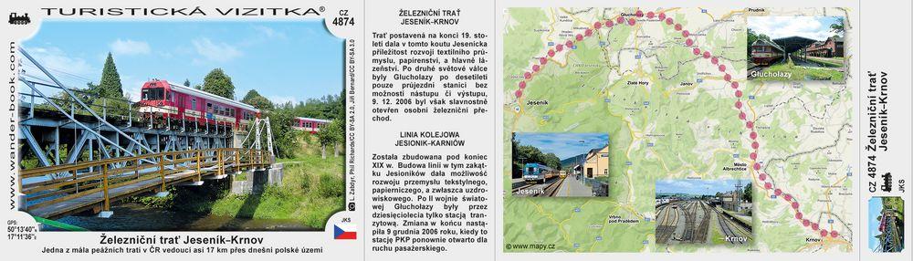 Železniční trať Jeseník–Krnov