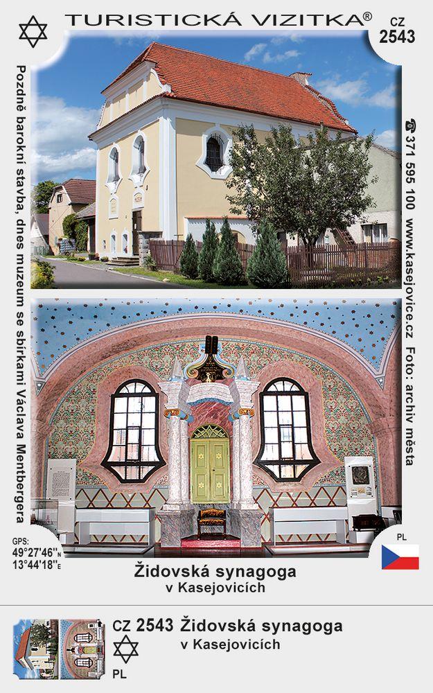 Židovská synagoga v Kasejovicích