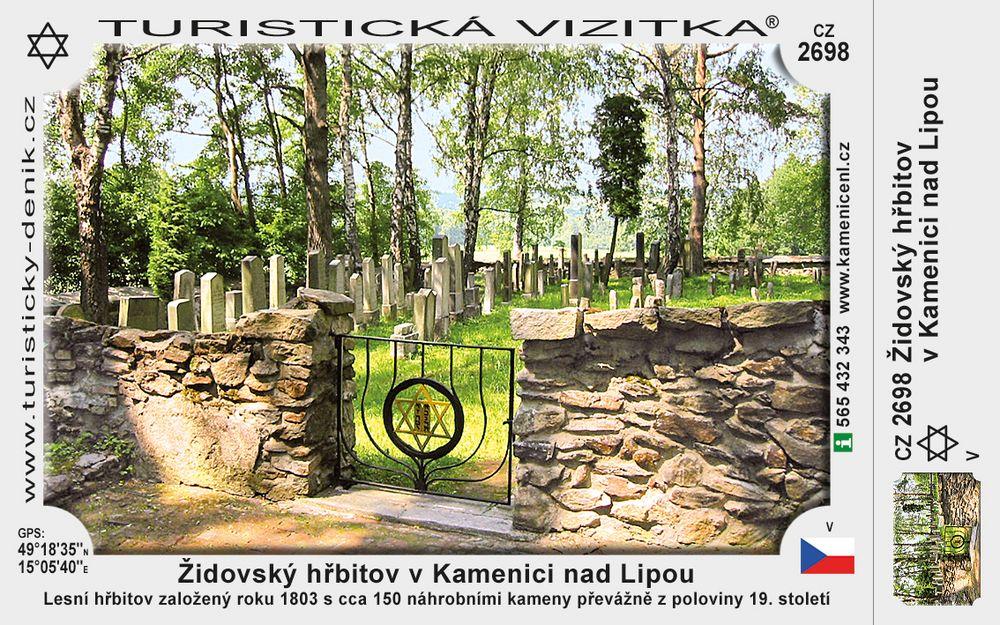 Židovský hřbitov v Kamenici n. Lipou