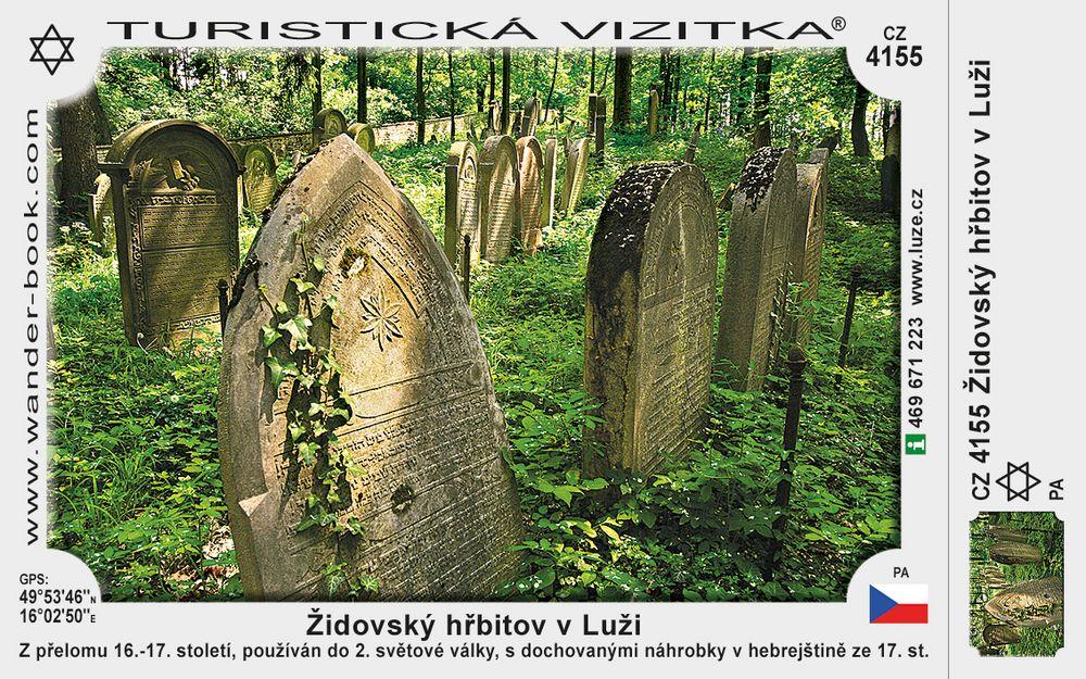 Židovský hřbitov v Luži