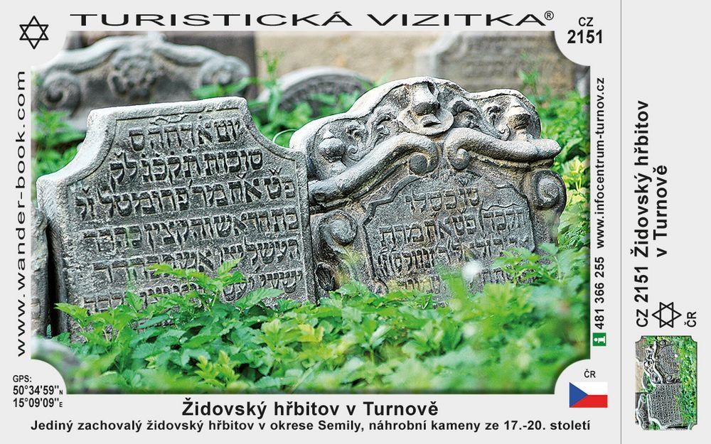 Židovský hřibitov v Turnově