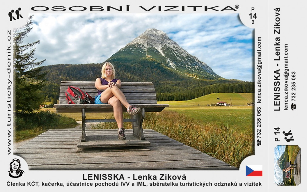 Lenka Zíková – LENISSKA
