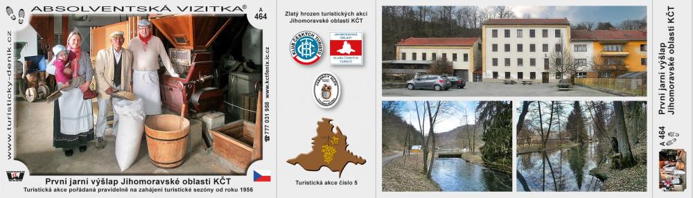 První jarní výšlap Jihomoravské oblasti KČT