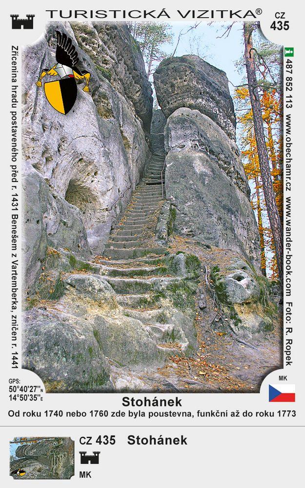 Zřícenina hradu Stohánek