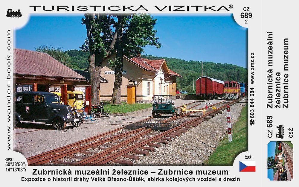 Zubrnická muzeální železnice