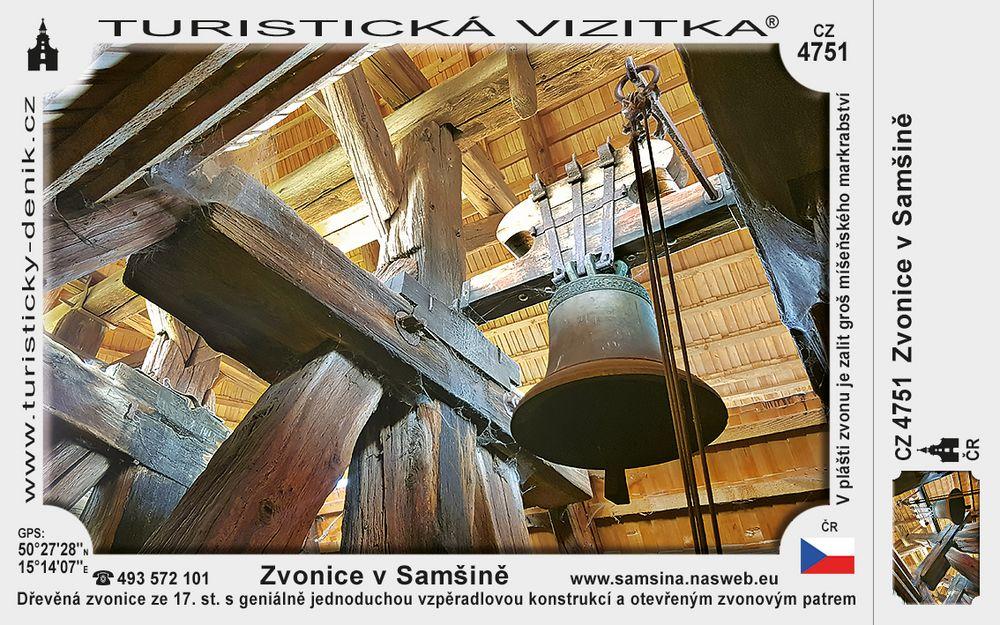Zvonice v Samšině