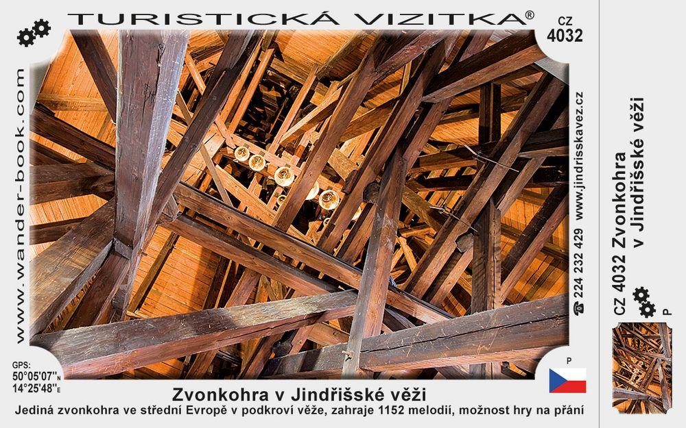 Zvonkohra v Jindřišské věži