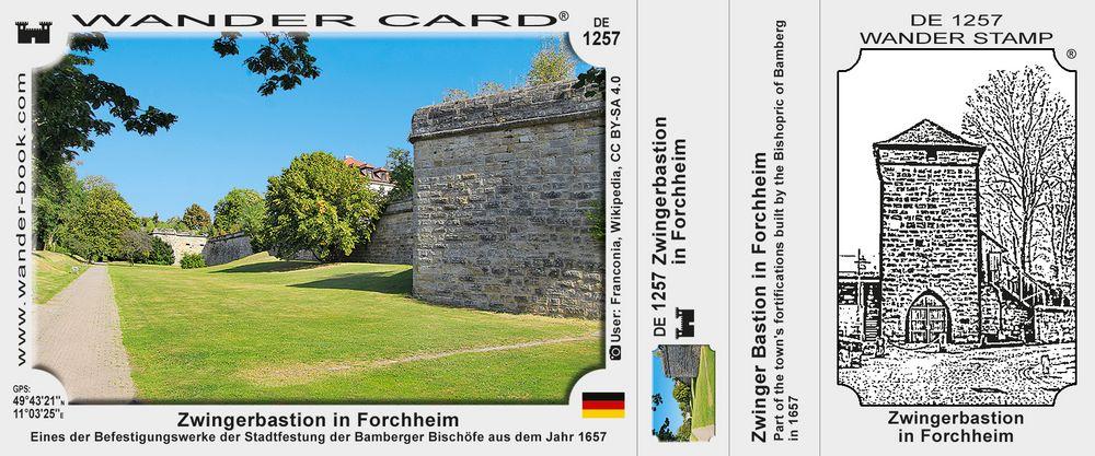 Zwingerbastion in Forchheim
