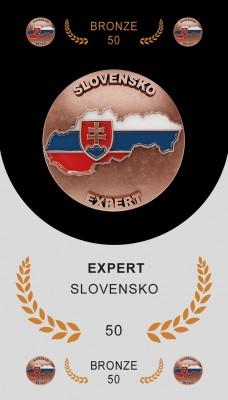 Expert – Slovensko 50