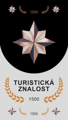 TURISTICKÁ ZNALOST 1500